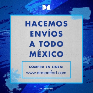 Con este clima☁️dan ganas de quedarte en casa y seguirte cuidando✨👀 Recuerda que puedes hacer tus pedidos en línea y te llegarán hasta la puerta de tu casa💙 Envíos a todo 🇲🇽 www.drmontfort.com